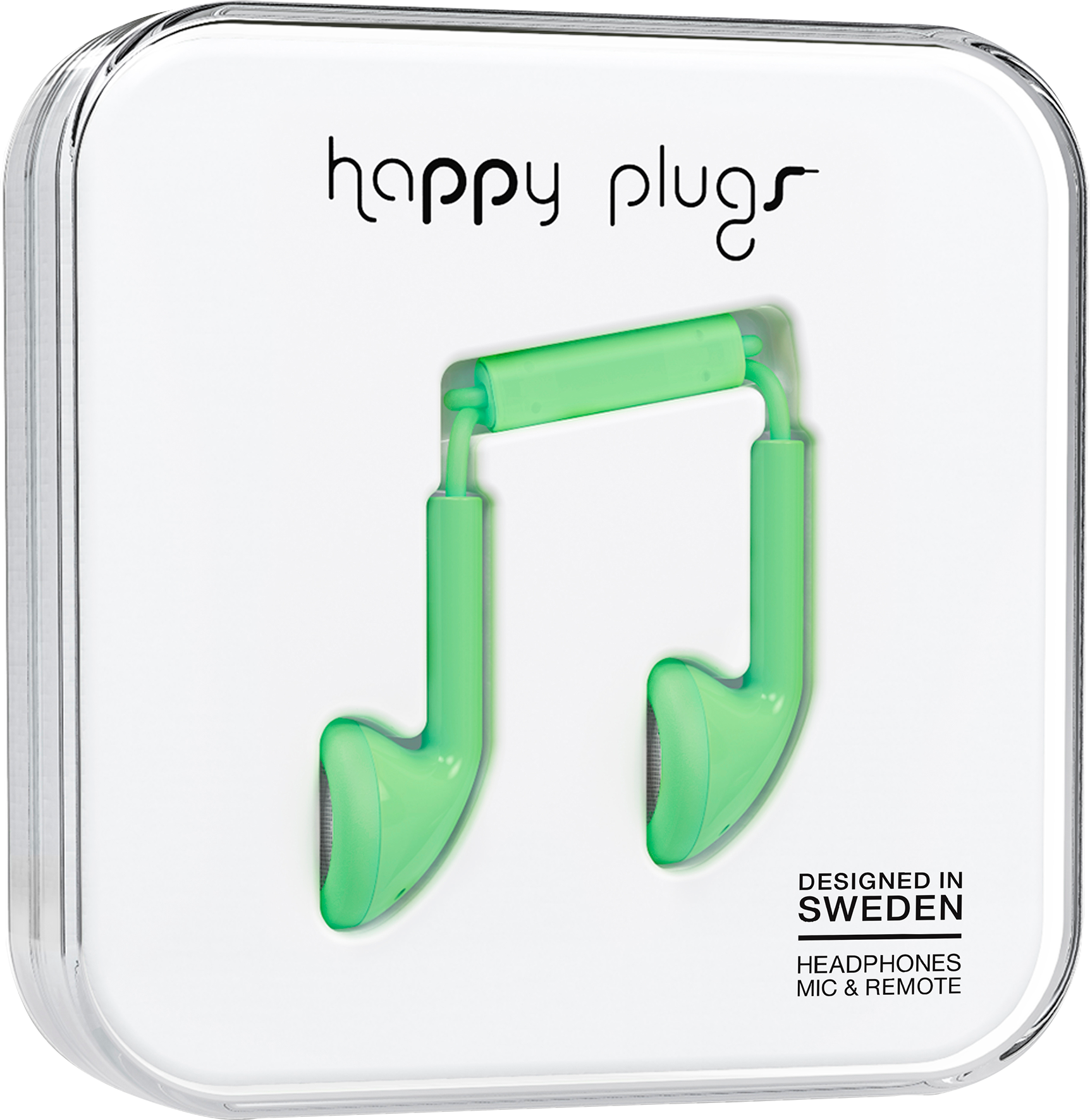 Happy Plugs Earbud Green