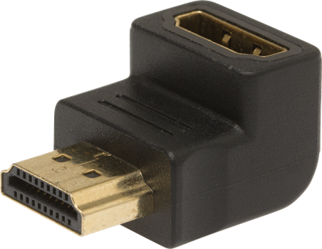 ZAP HDMI to HDMI Female Angled 90° Adapter