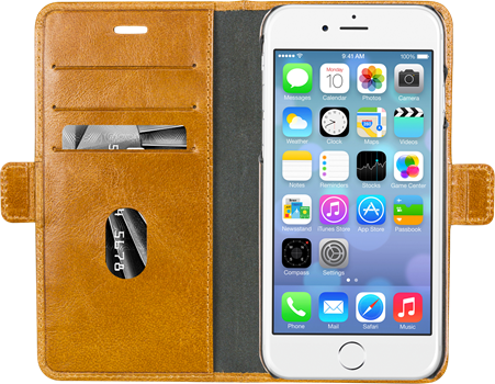 D.Bramante Lynge iPhone 6/7/8 Plus Golden Tan