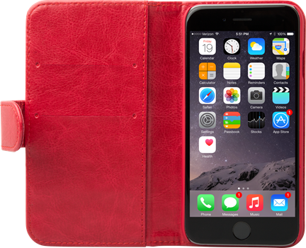 iZound Wallet Case iPhone 6/6S Plus Red