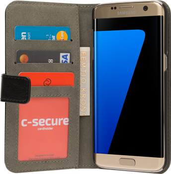 iZound Magnetic Wallet Samsung Galaxy S7 Edge Black