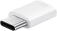 Samsung Micro-USB to Type-C Adapter White