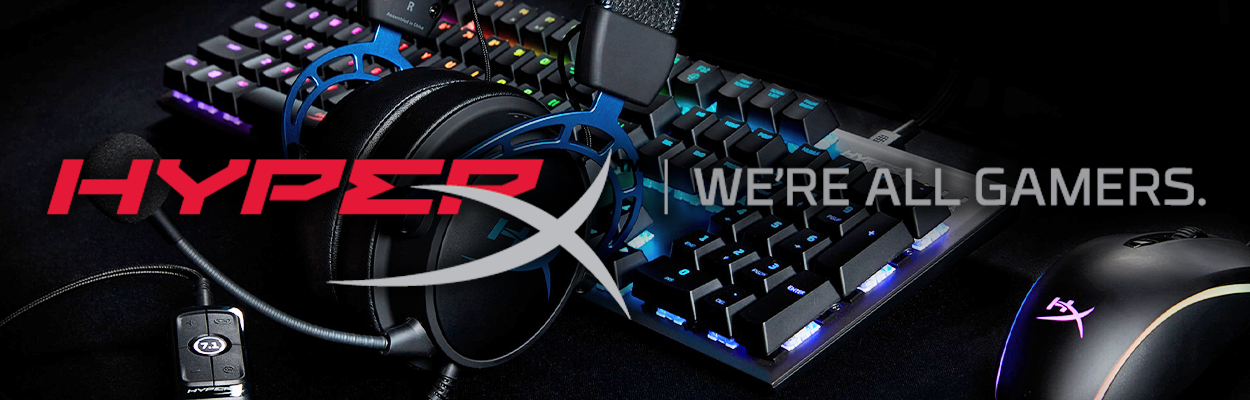 HyperX - we're all gamers