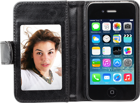 iZound Mirror Wallet iPhone 4/4S Black