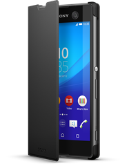 Sony Style Cover SCR48 Xperia M5 Black