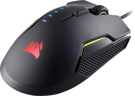 Corsair Gaming GLAIVE RGB Black