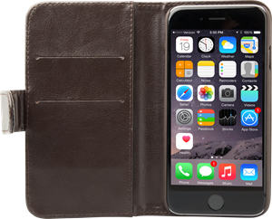 iZound Wallet Case iPhone 6/6S Dark Brown