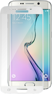 iZound Curved Glass Samsung Galaxy S6 Edge White