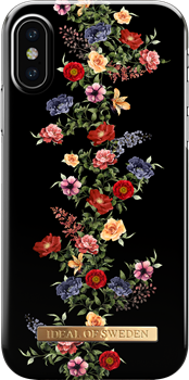 iDeal of Sweden Fashion Case iPhone X/XS Dark Floral