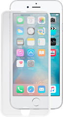 iZound 3D Grizzly Glass Slim Frame iPhone 6/6S White