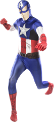 Morphsuit Captain America XL