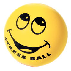Stress Reliever Smiley