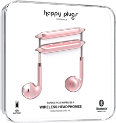 Happy Plugs Earbud Plus Wireless II Pink Gold