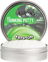 Crazy Aarons Thinking Putty Glow Krypton