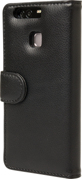 iZound Leather Wallet Case Huawei P9 Black