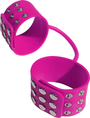 Silicone Handcuffs Pink