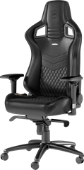 noblechairs EPIC Series Real Leather Black