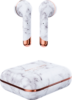 Happy Plugs Air 1 - White Marble