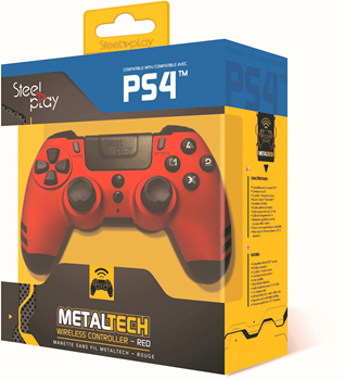 Steelplay PS4 Wireless Controller - Red