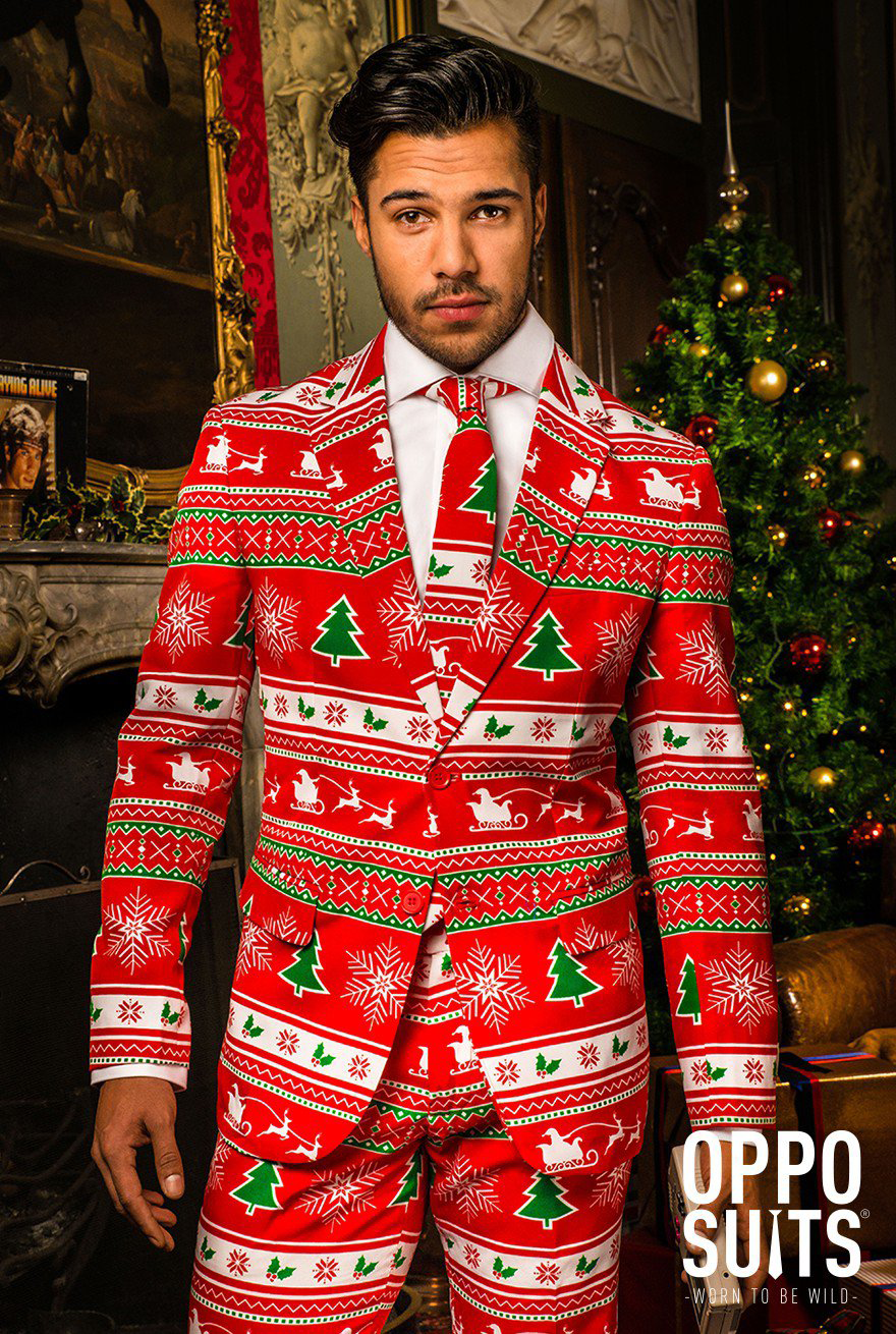 Läs mer om OppoSuits Winter Wonderland stl 50