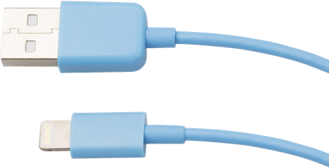 iZound Lightning USB Cable 1 m Blue