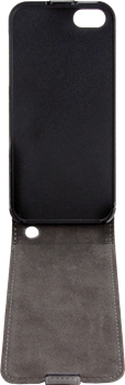 Xqisit Flipcover iPhone 5 Black