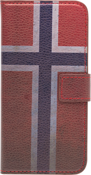 iZound Flag Wallet Norge iPhone 6/6S