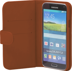 iZound Wallet Case Samsung Galaxy S5 Brown