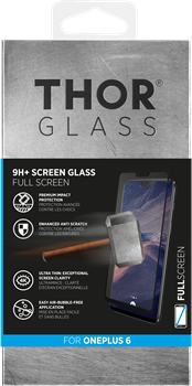 Thor Curved Glass Screen Protector OnePlus 6