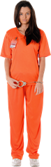 Orange Prisoner Girl M