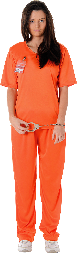 Orange Prisoner Girl M thumbnail