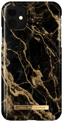 iDeal of Sweden Fashion Case iPhone XR/11 Golden Smoke Marble