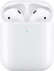 Apple Airpods 2019 med Qi case