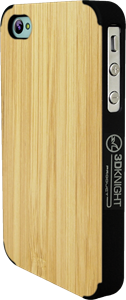 3DKNIGHT Bamboo Case iPhone 4/4S