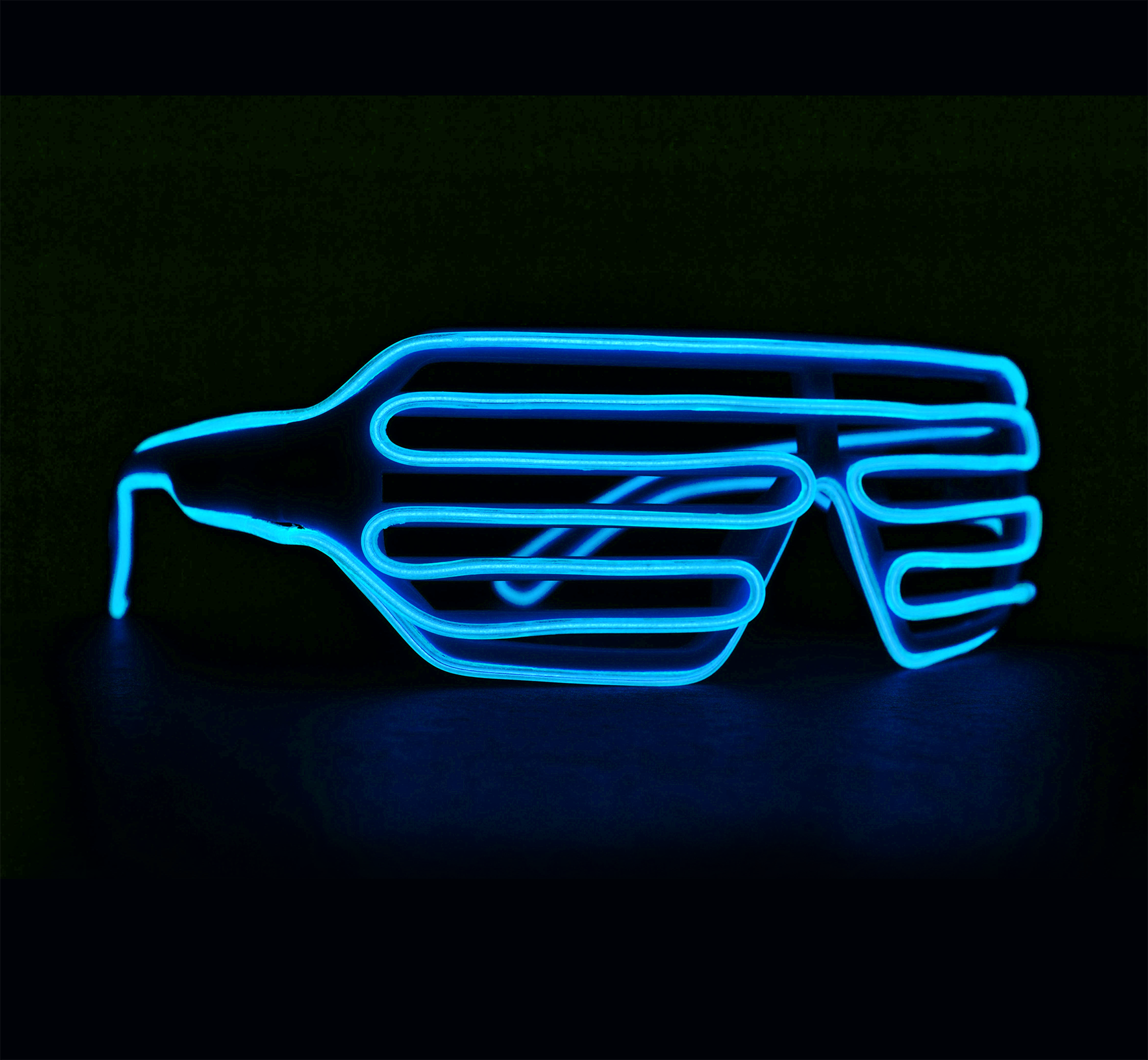 Läs mer om Neon Light Up Party Glasses