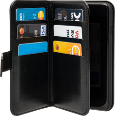 iZound Wallet Case Multi iPhone 7/8 Black