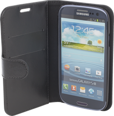iZound Fold-Up Wallet Case Samsung Galaxy S III Black