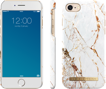 iDeal of Sweden Fashion Case iPhone 6/6S/7/8 Carrara Gold