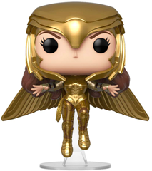 Funko POP DC Comics - Wonder Woman Golden Armor Flying