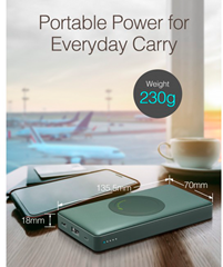 GP PowerBank Q10A Wireless QI 10000mAh