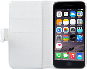 iZound Leather Wallet Case iPhone 6/6S White