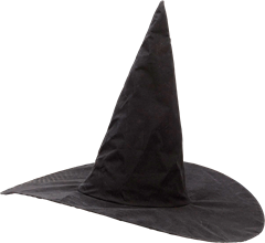 Witch Hat Black One Size