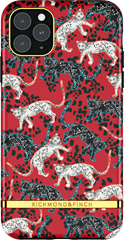 Richmond & Finch Samba Red Leopard iPhone 12 Pro Max