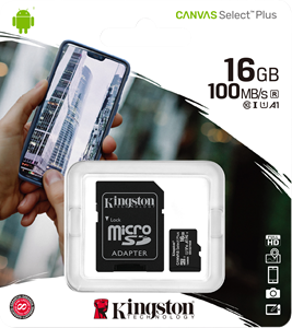 Kingston Canvas Select Plus 16GB