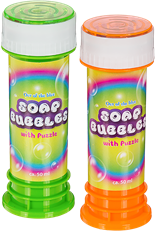 Soap Bubbles With Puzzle 2-pack