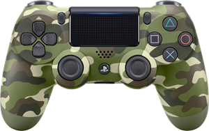 Sony Dual Shock 4 Controller V2 Green Camo (PS4) (Original)
