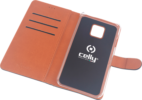 Celly Wallet Case Huawei Mate 20 Pro Black
