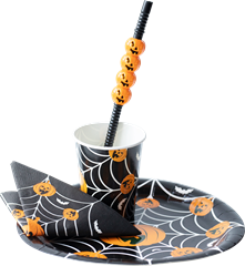 Halloween Paper Cups 8-pack