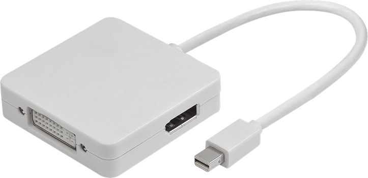 ZAP Mini DisplayPort to HDMI, DVI and DisplayPort