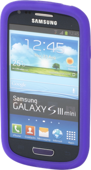 iZound Silicone Case Samsung Galaxy S III Mini Purple